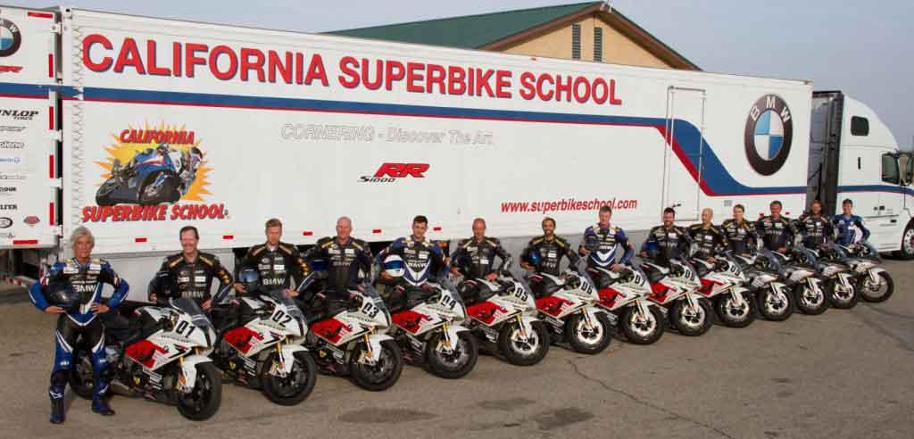 California Superbike School 2016